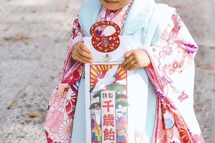 許麻神社の七五三のイメージ